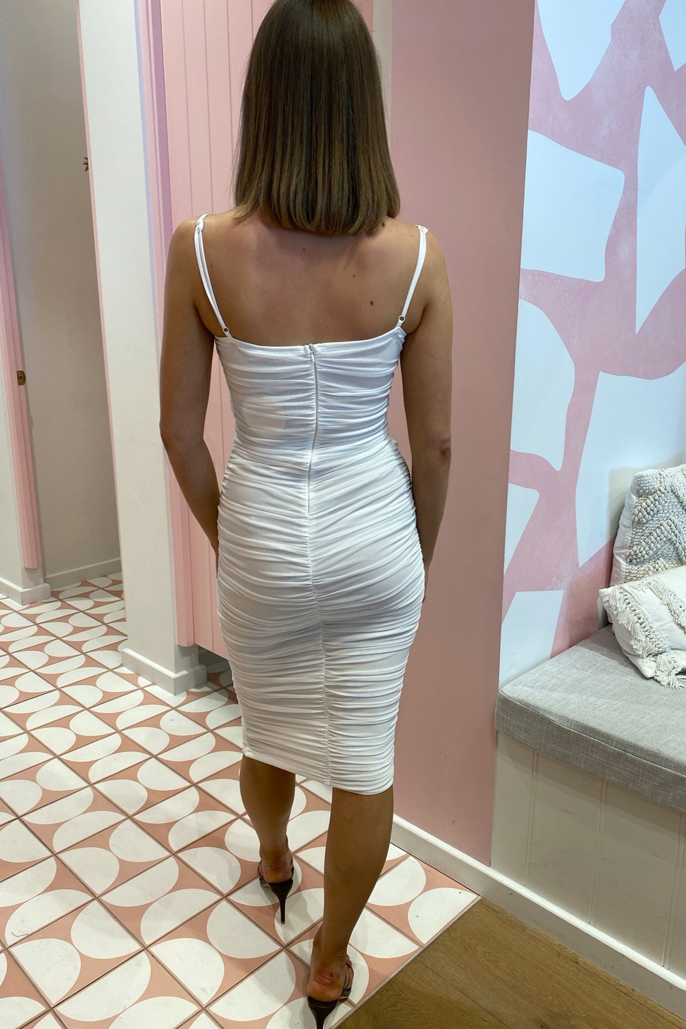 Mandy Dress - White