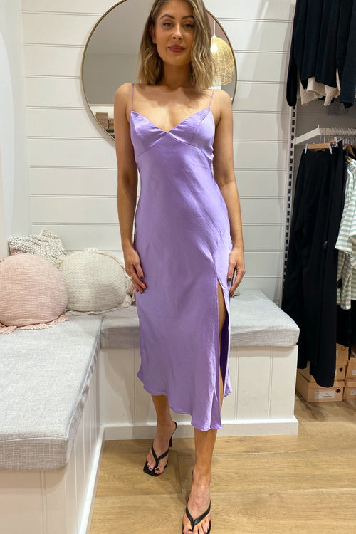Laneway Dress - Purple