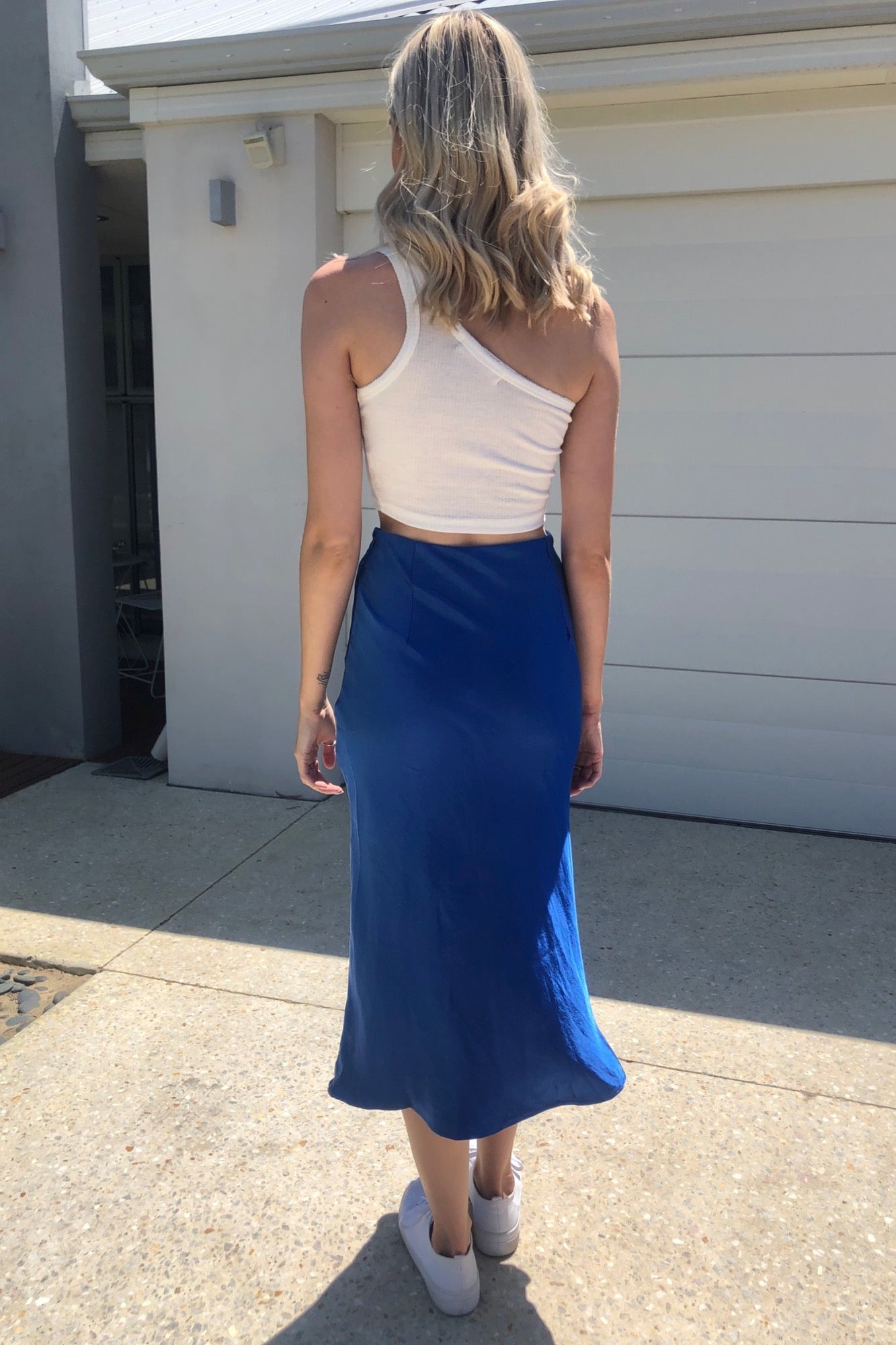 Ocean Deep Skirt - Azure Blue
