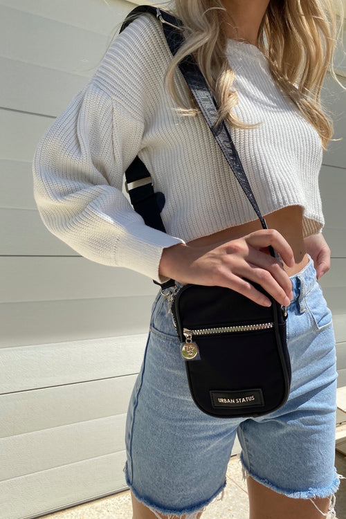 George Crossbody - Black