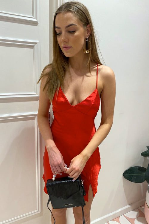 Wrong Girl Dress - Red