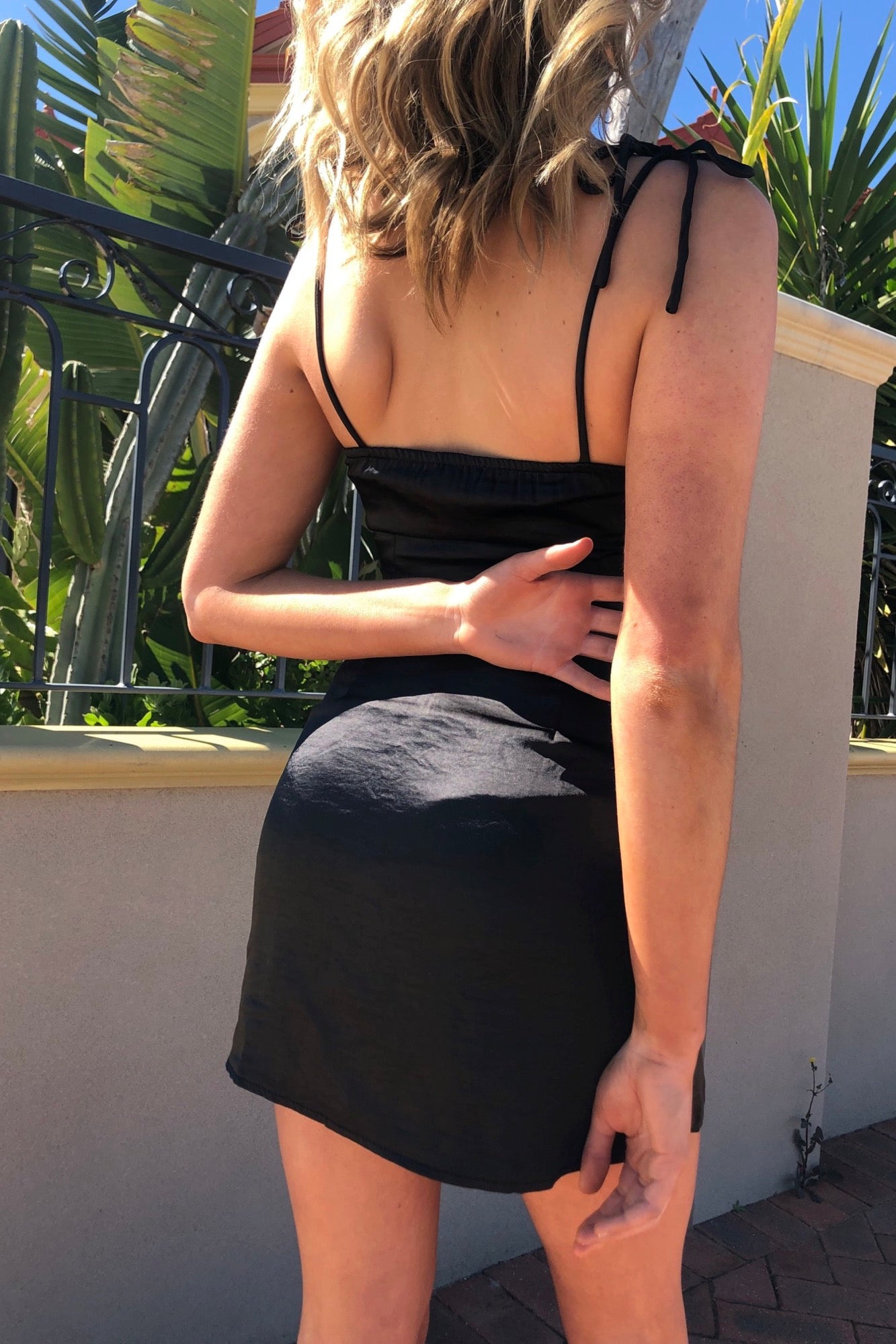 Eager To Please Dress - Black
