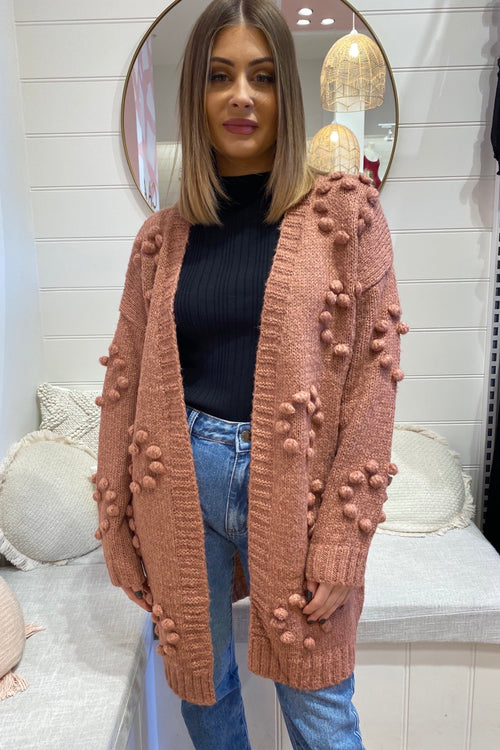 Willow Cardi - Rose