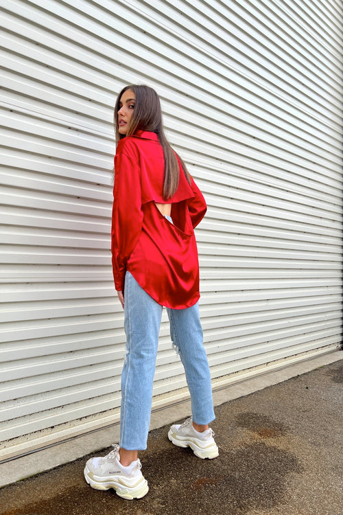 Rommy Knit - Pink Stripe