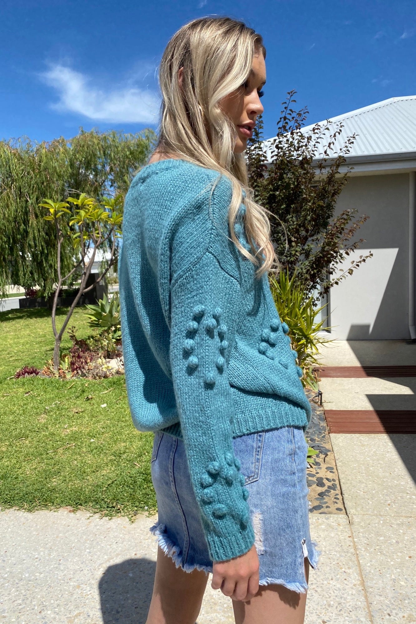 Molly Knit - Teal