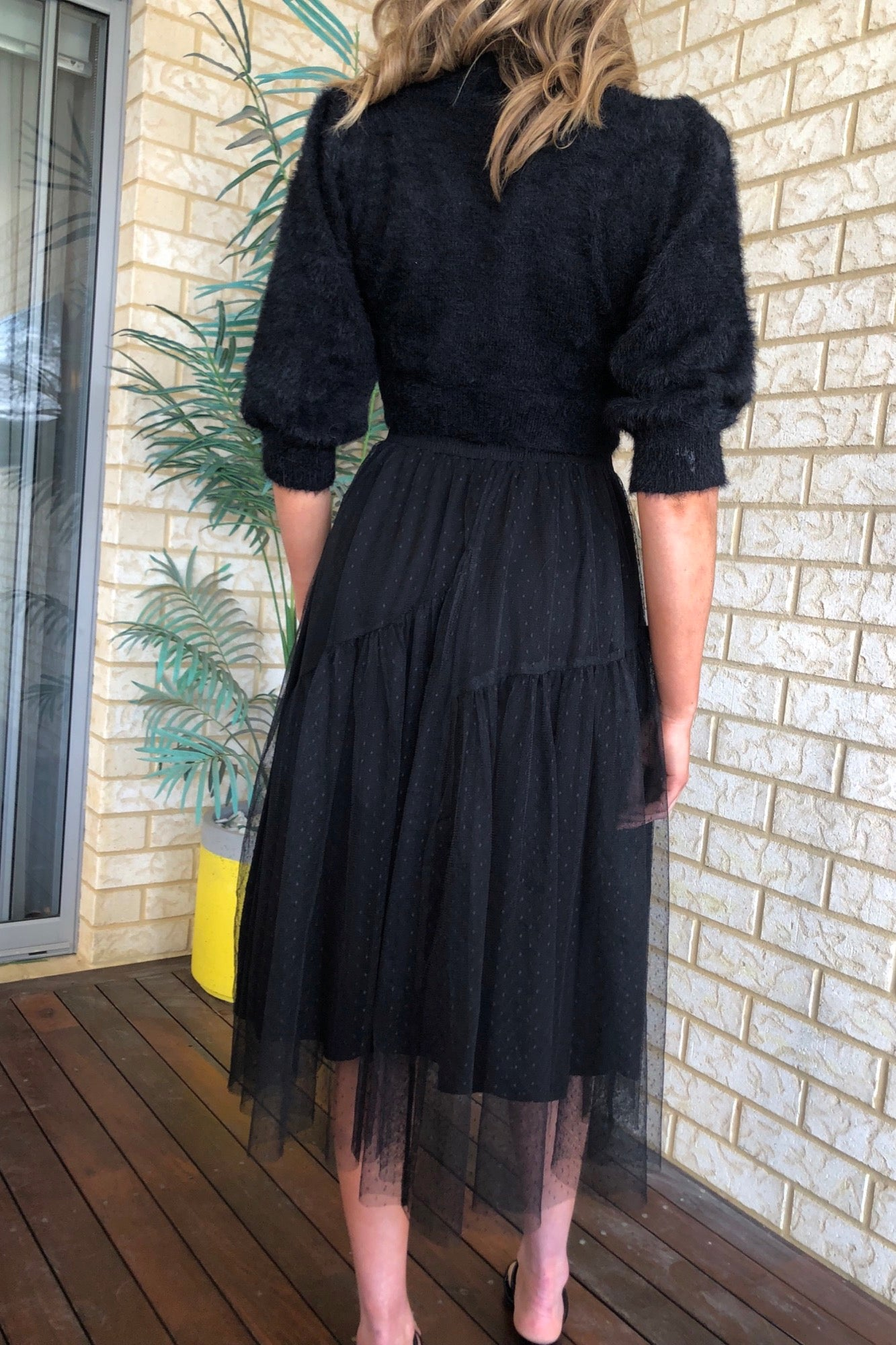 Belle Skirt - Black
