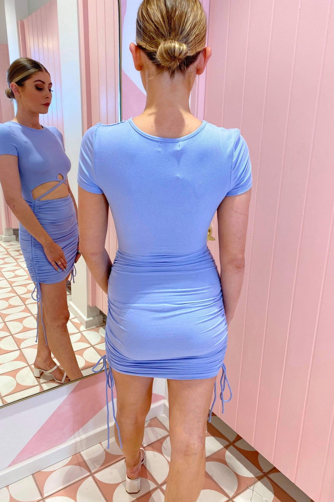 Rush Hour Dress - Blue