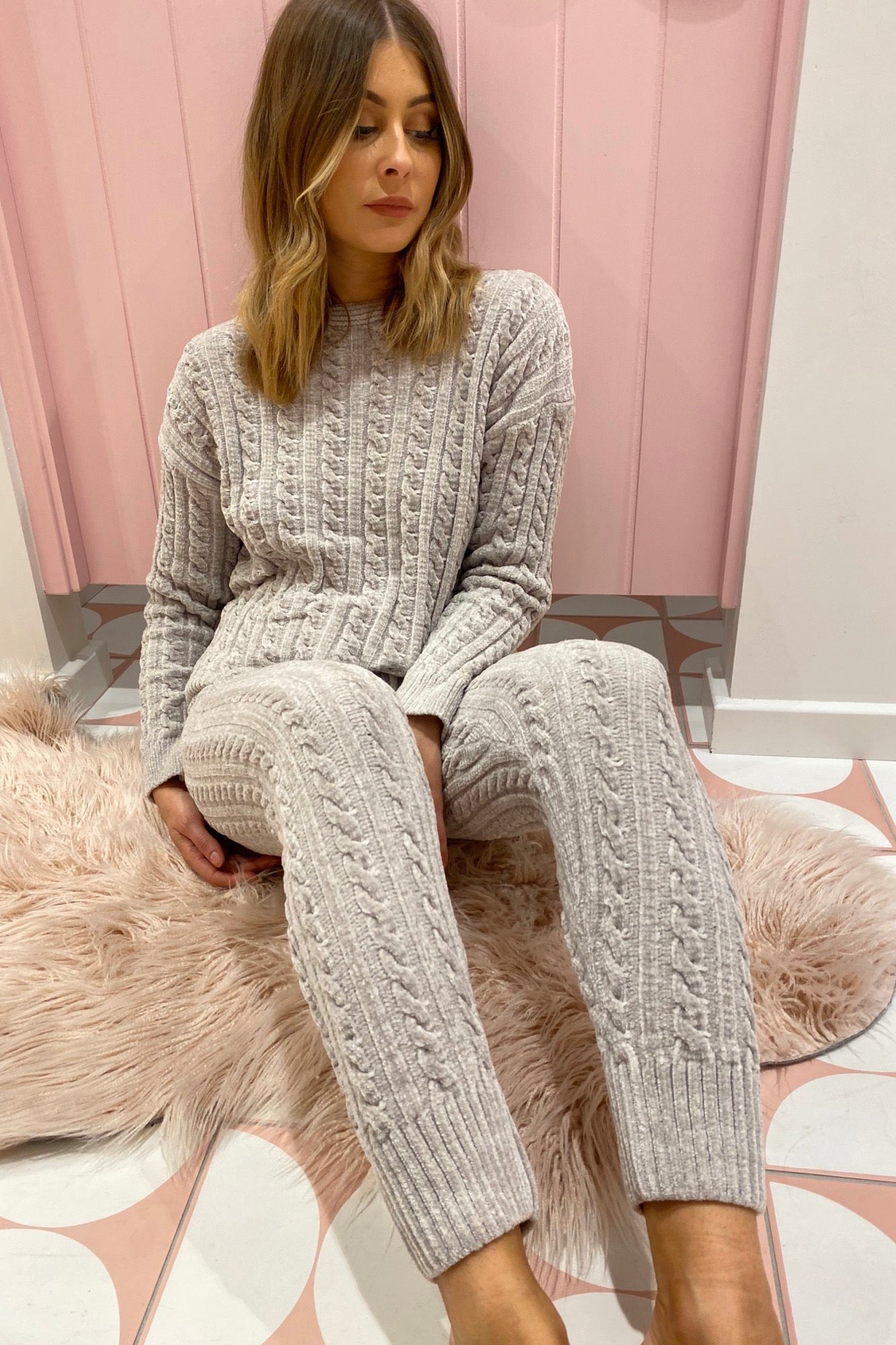 Live To Lounge Jumper - Grey