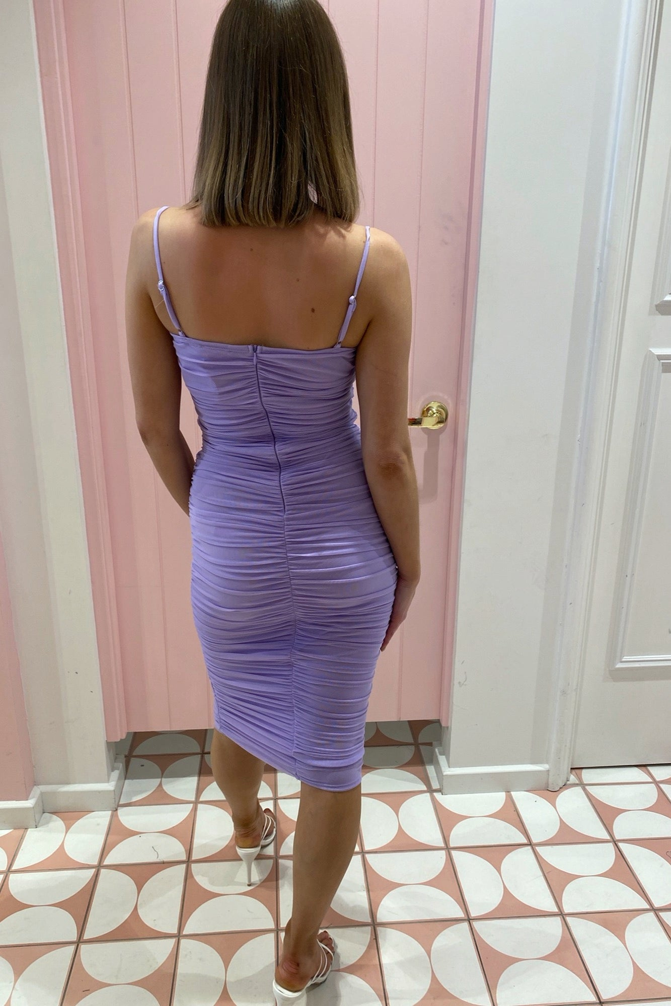Mandy Dress - Lilac