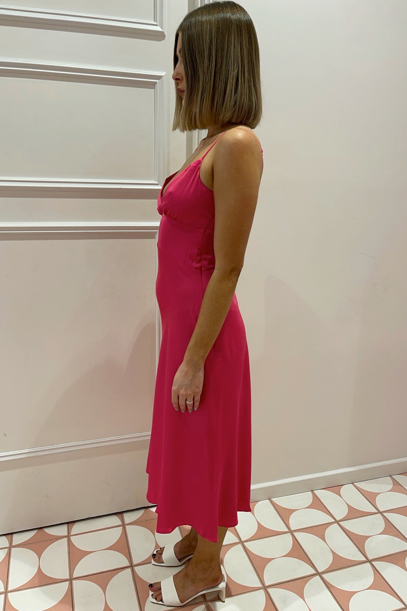 Unify Dress - Hot Pink