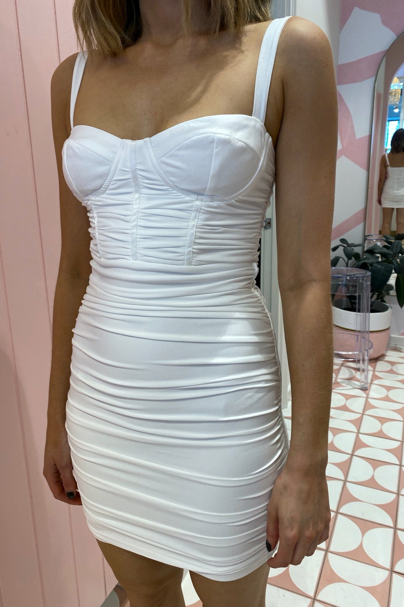 Niche Dress - White
