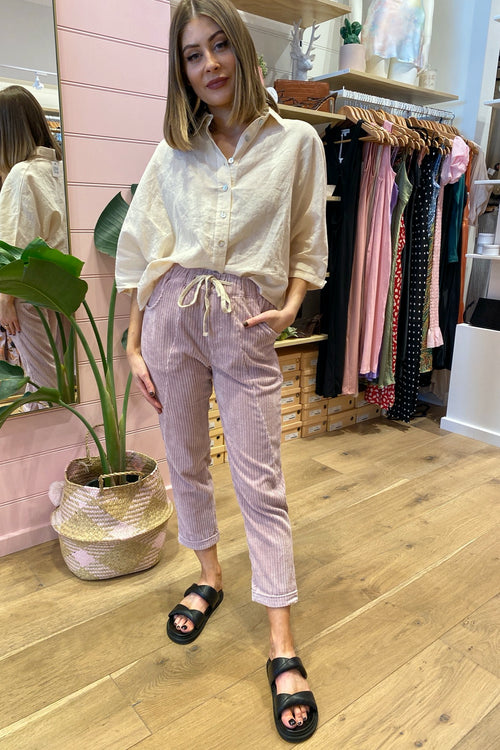 High Road Pant - Lilac