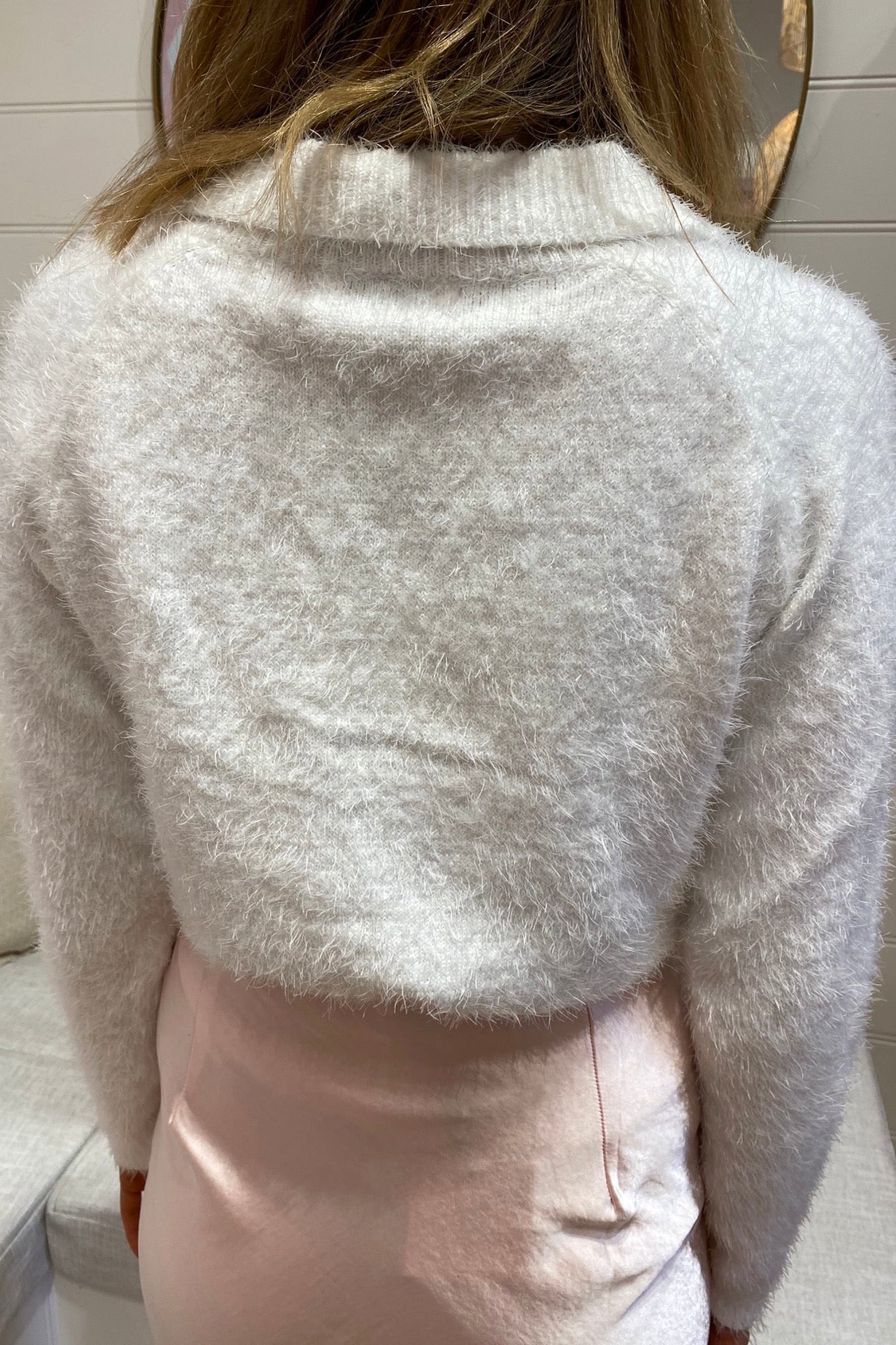 Rich Girl Sweater - White
