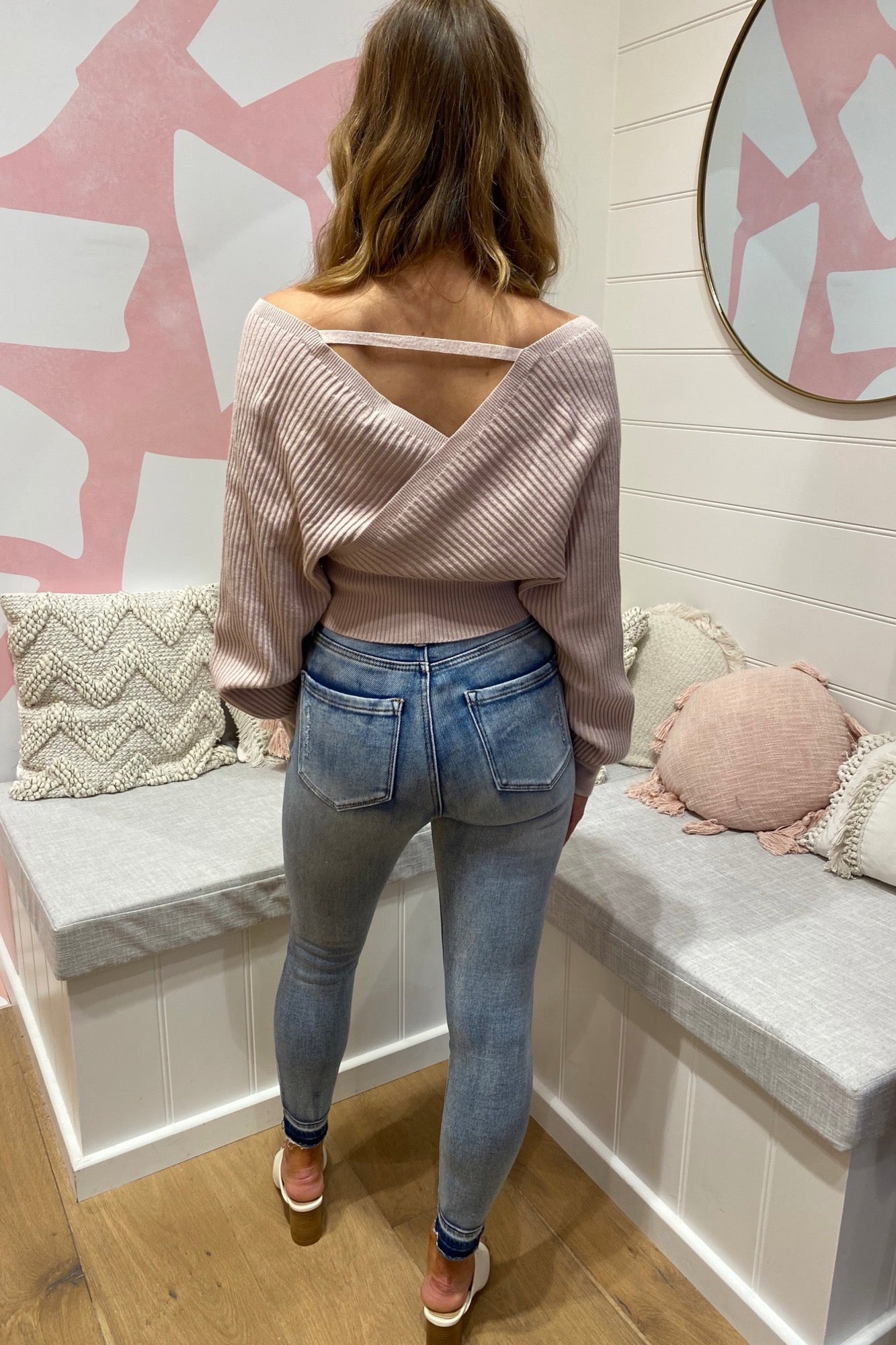 Taya Knit - Blush