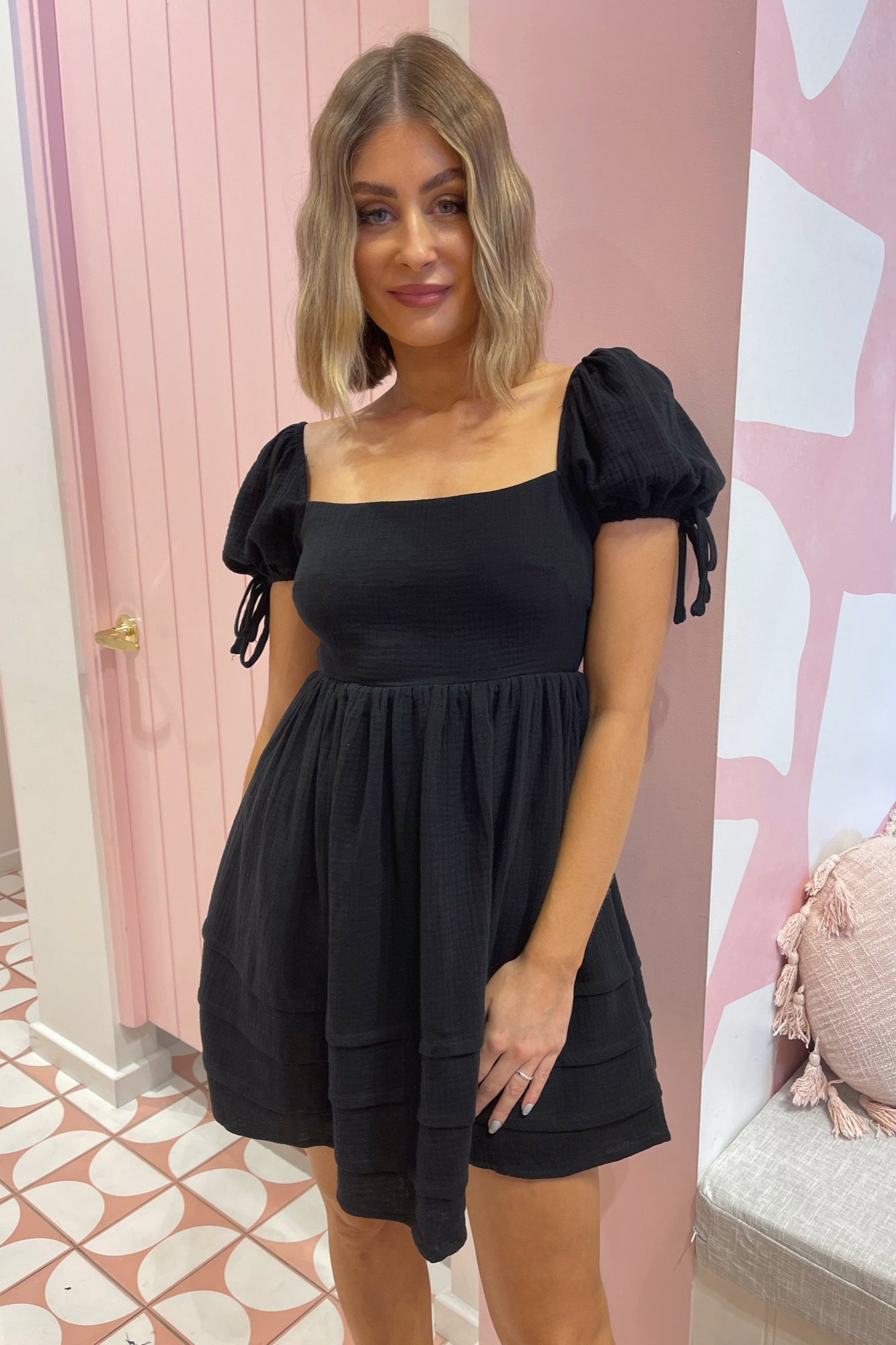 Stockholm Dress - Black