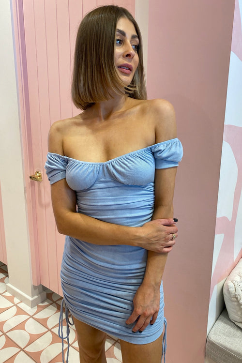 Mya Dress - Sky Blue