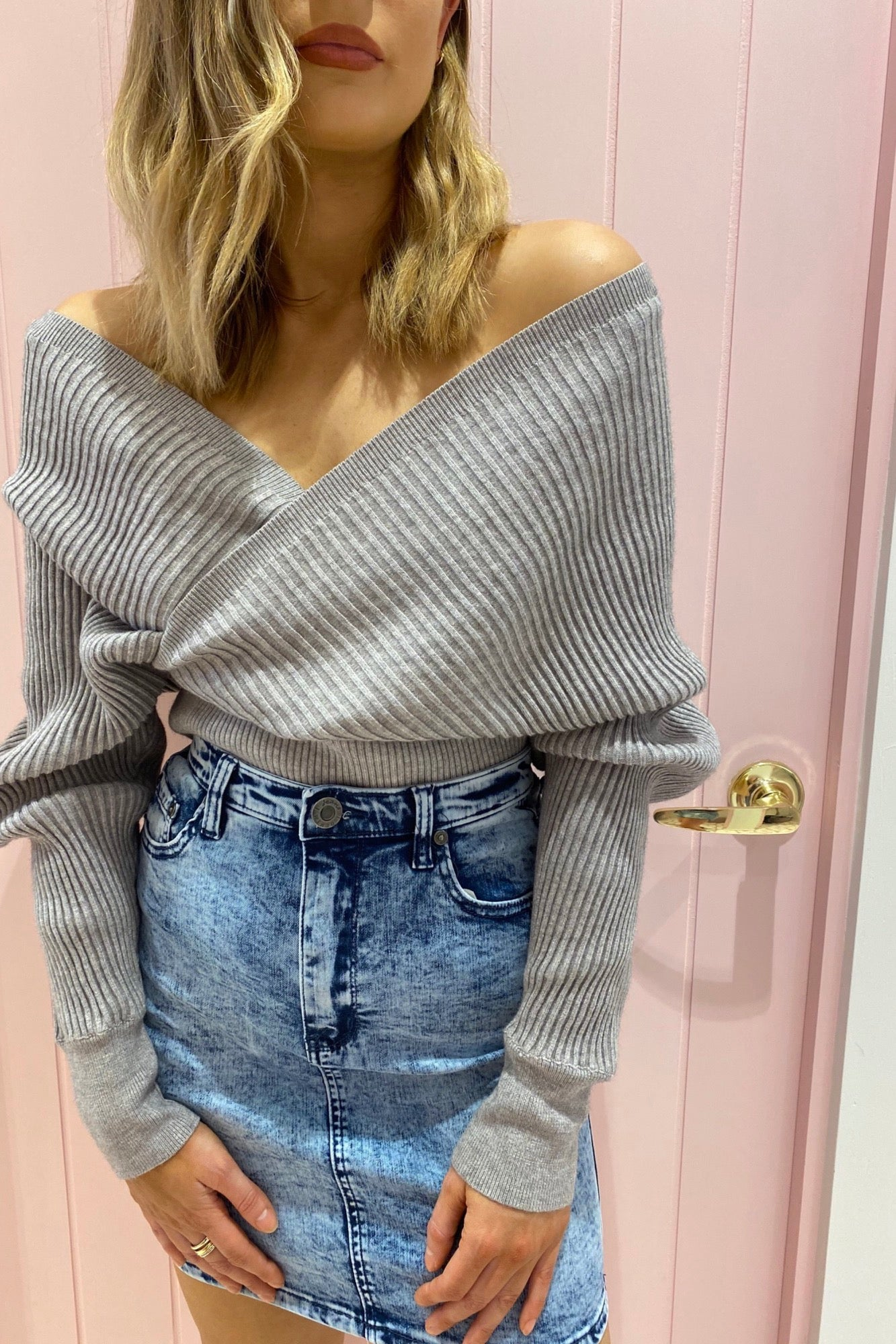 Taya Knit - Grey