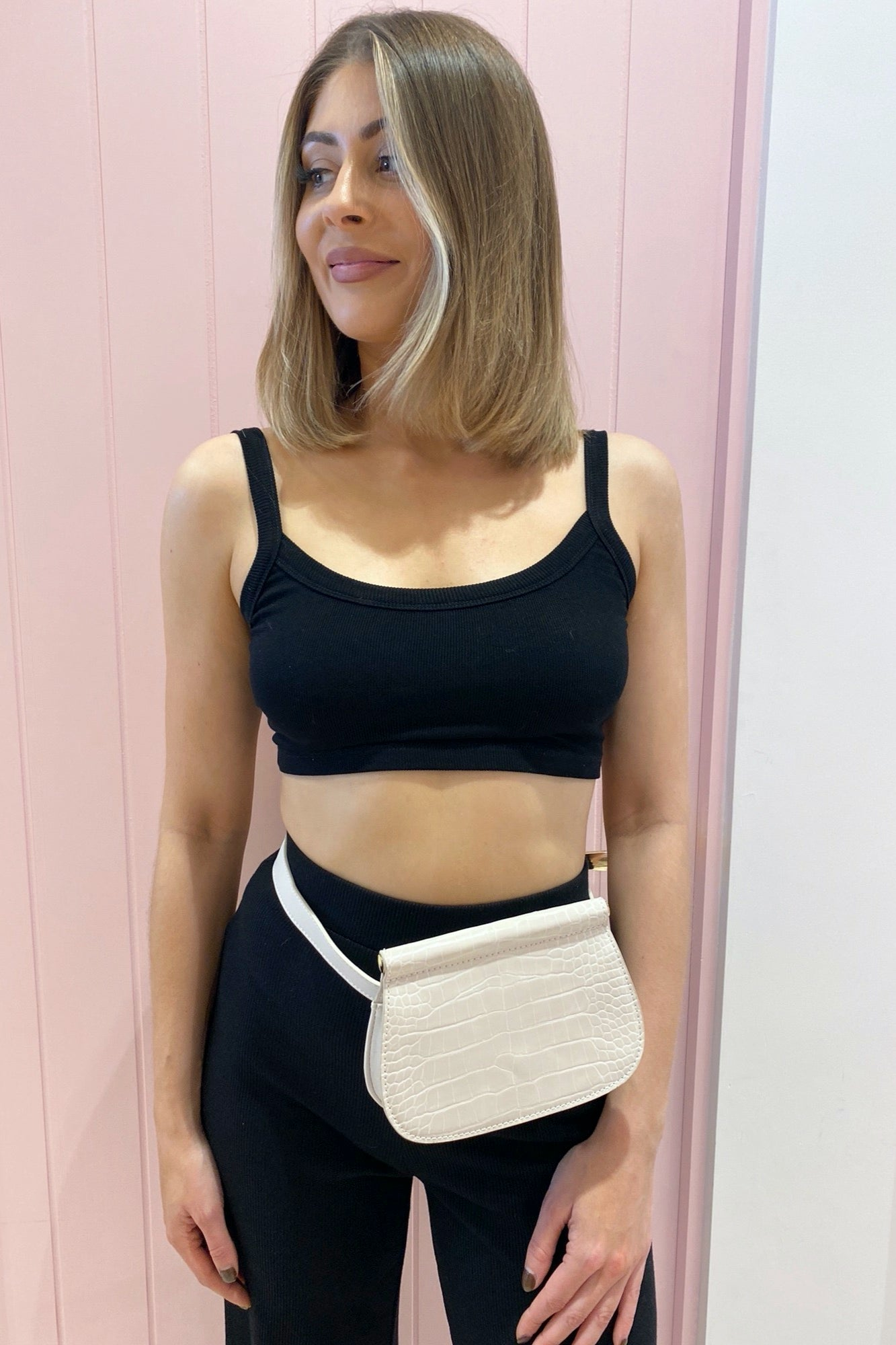 Tobi Crop - Black