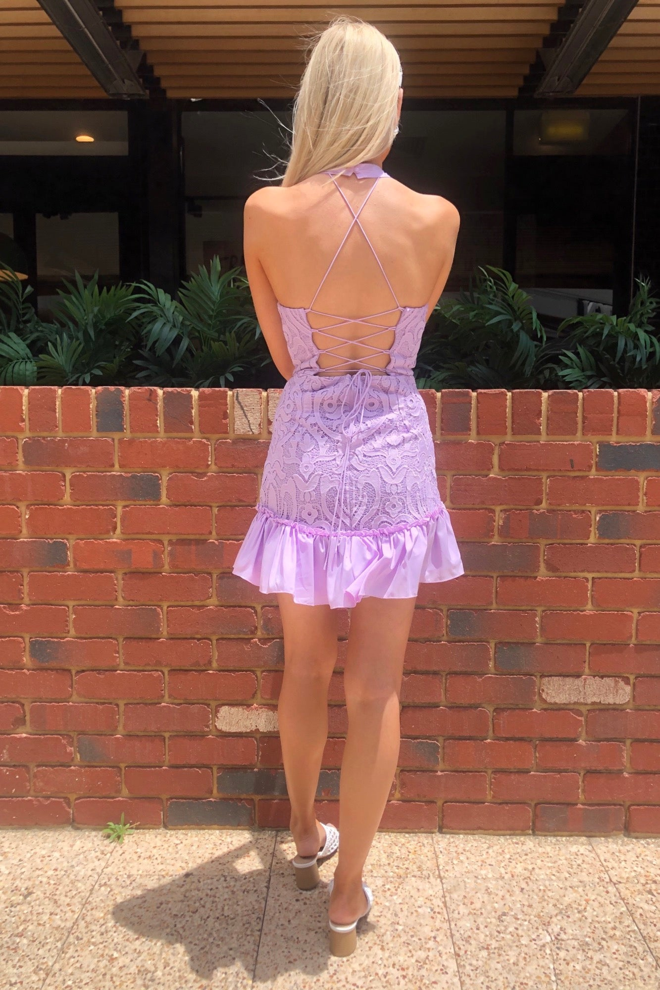 Esmerelda Dress - Lilac