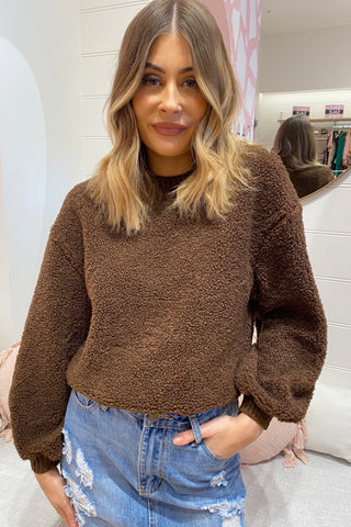 Saffia Sweater - Mocha
