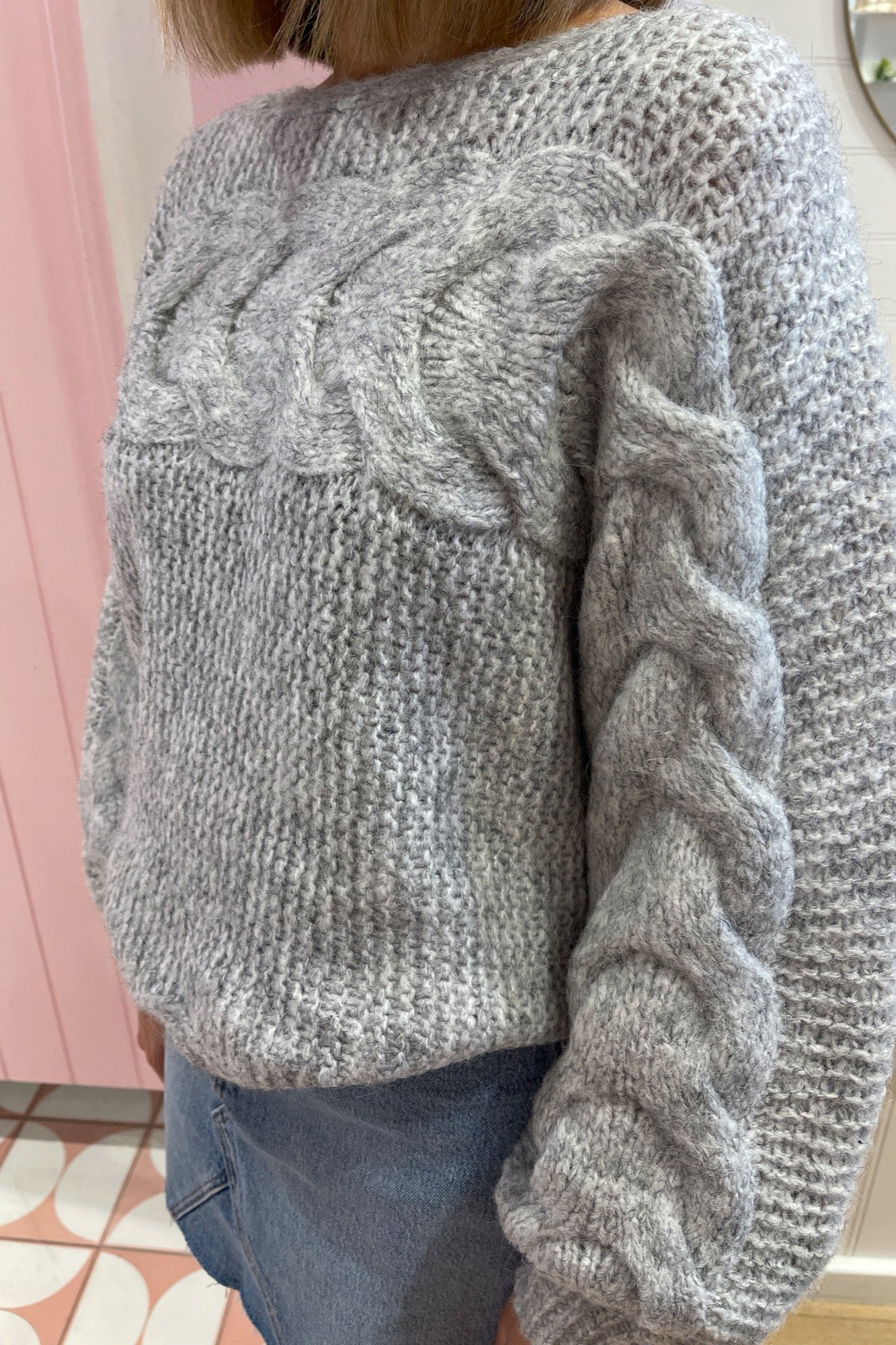Thea Knit - Grey