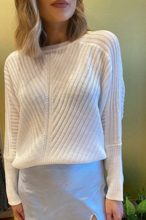 New Moon Jumper - White