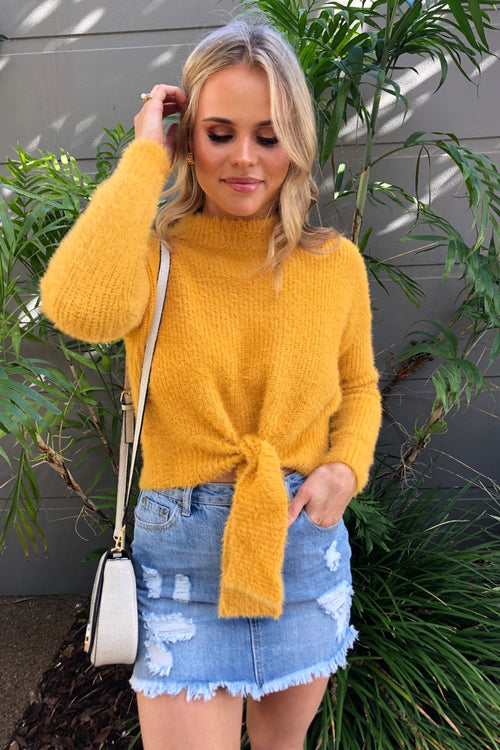 Tiffany Jumper - Mustard