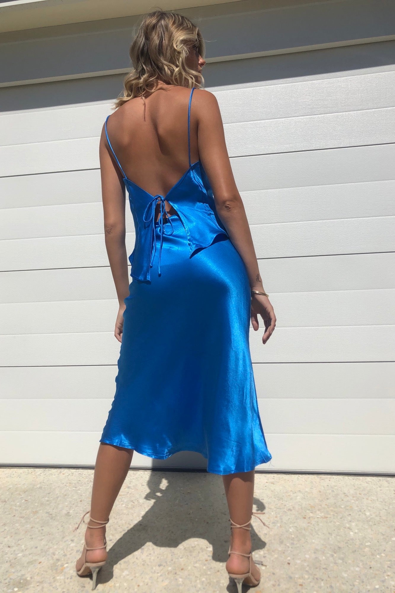 Analise Dress - Blue