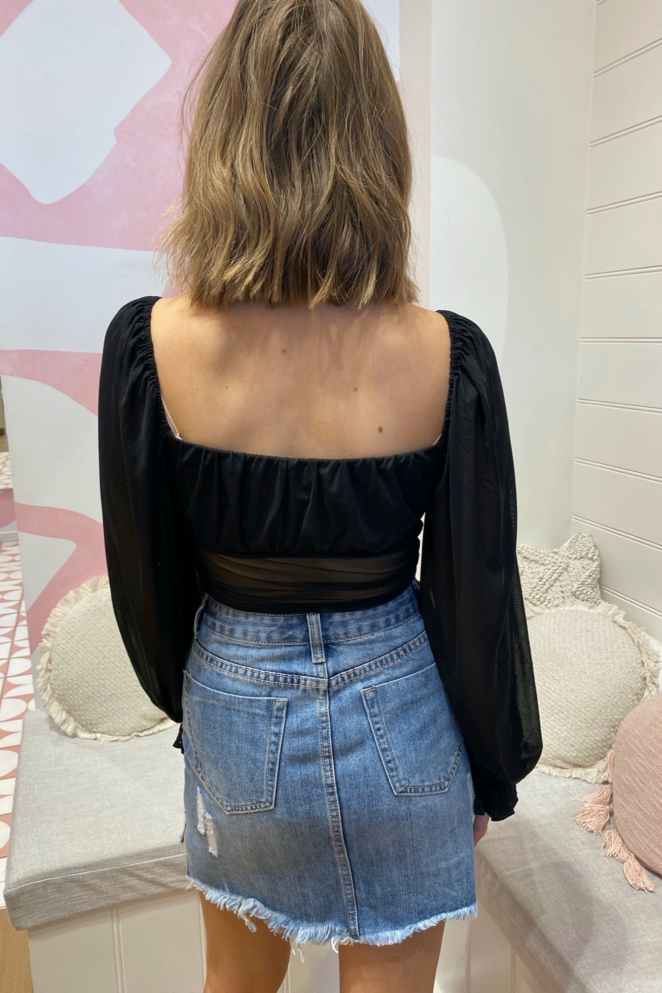 Gia Top - Black