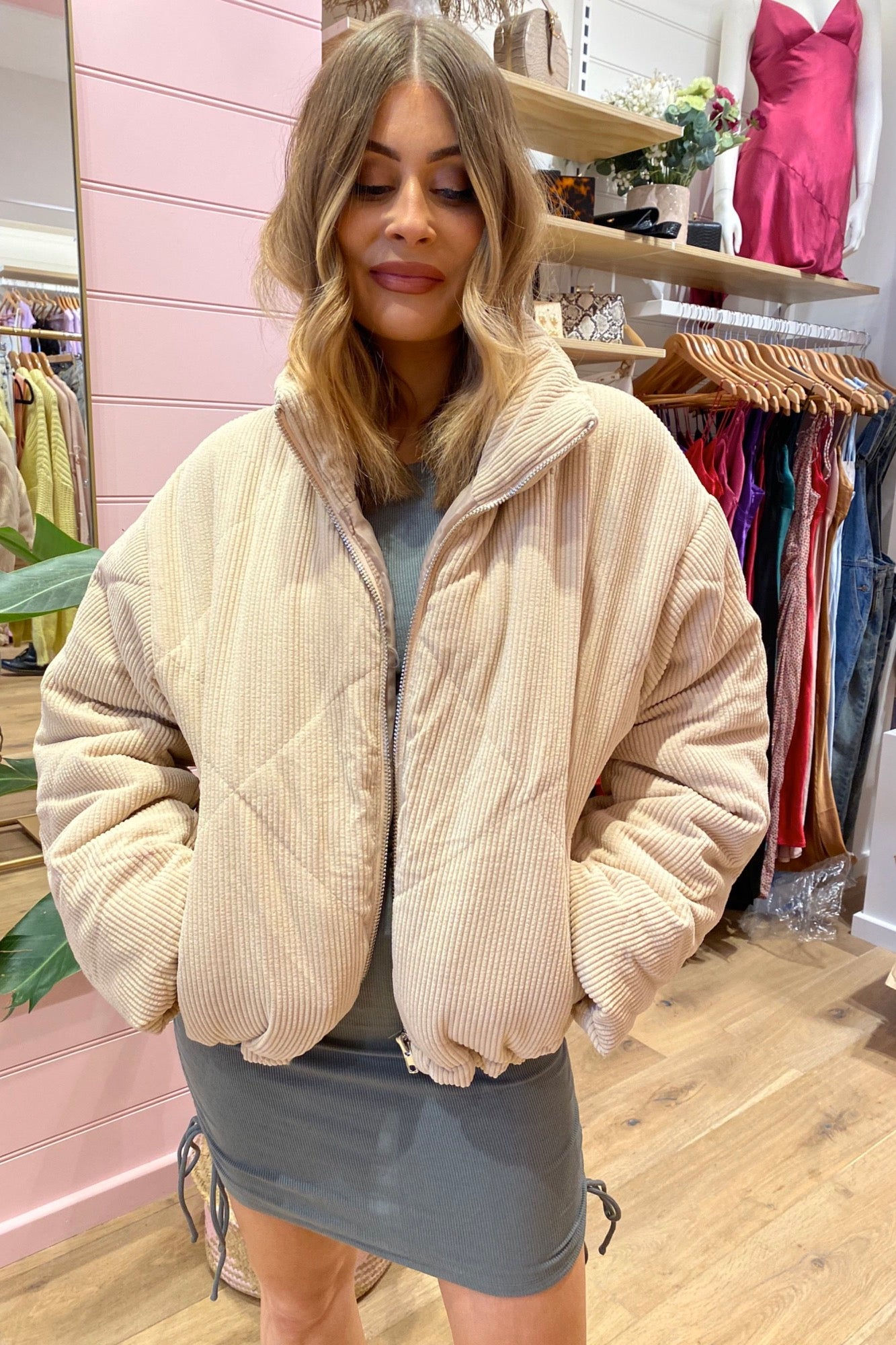 Cole Jacket - Beige