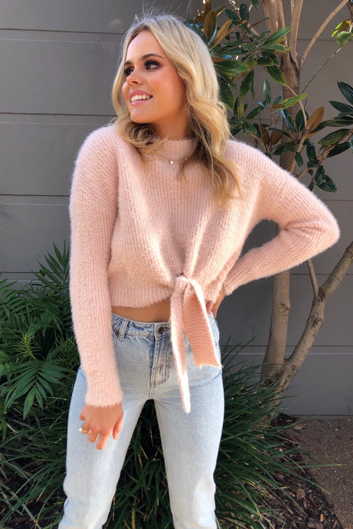 Tiffany Jumper - Blush
