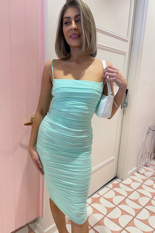 Mandy Dress - Spearmint