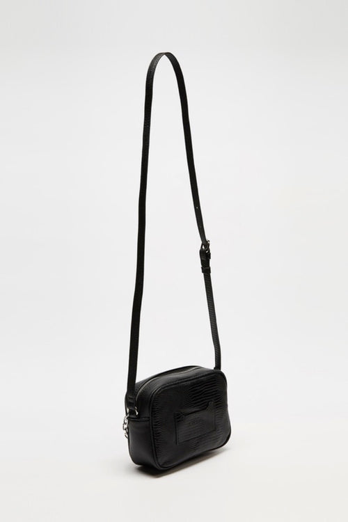 Nathaniel Camera Crossbody - Black