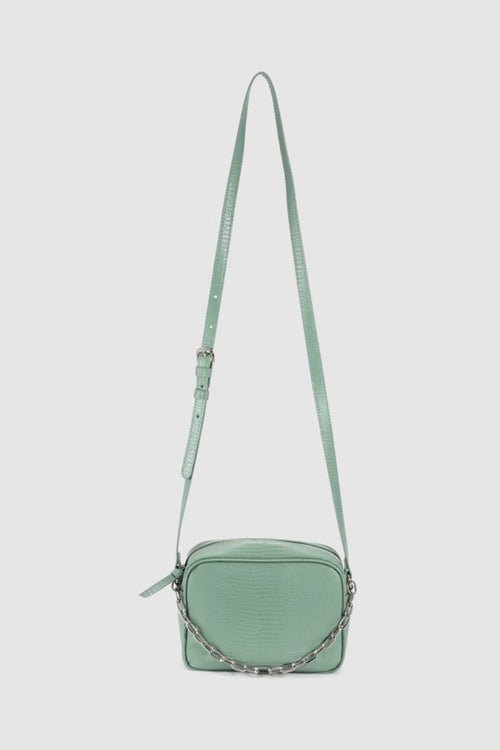 Nathaniel Camera Crossbody - Mint