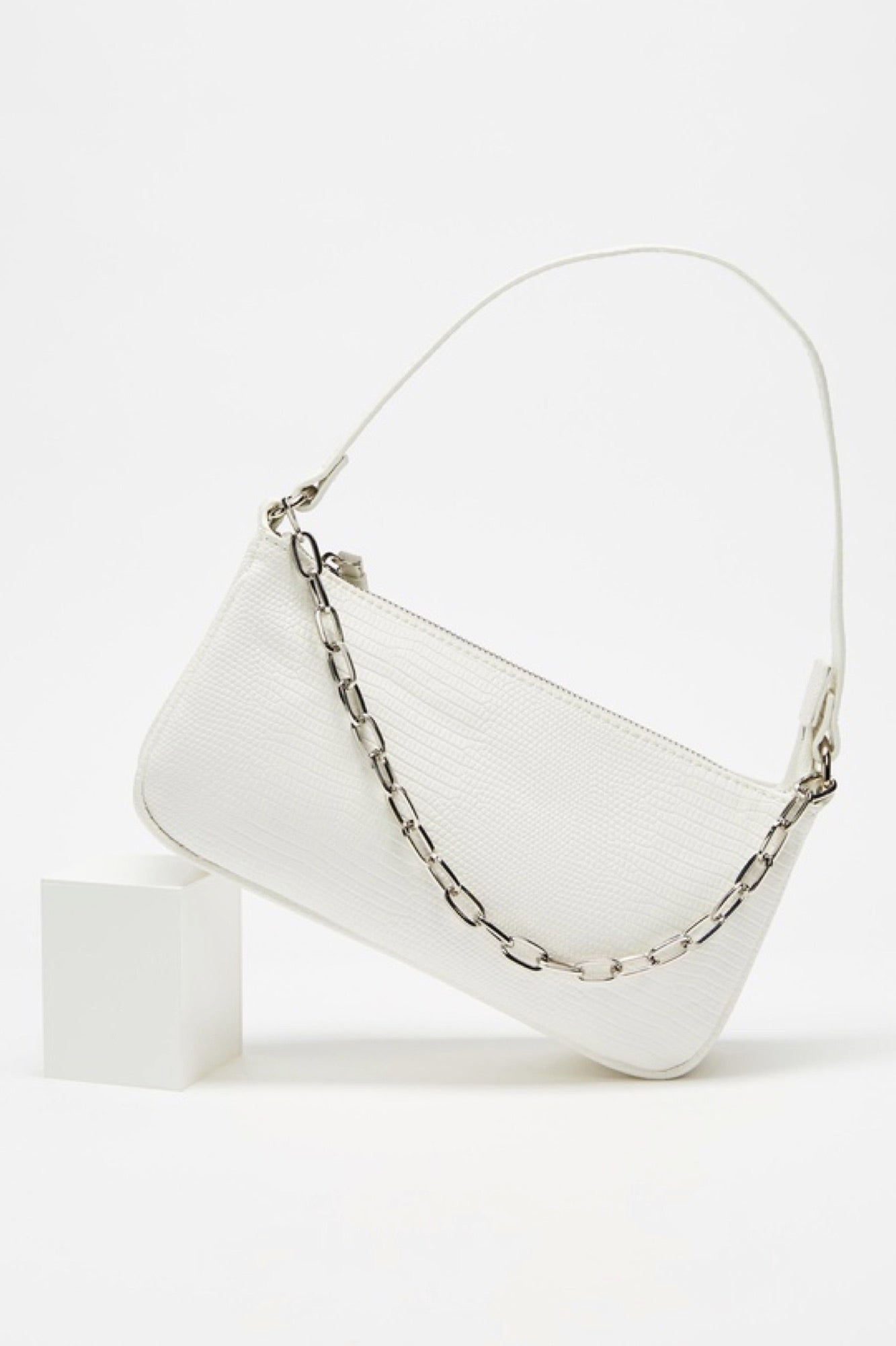 Neev Shoulder Bag - White