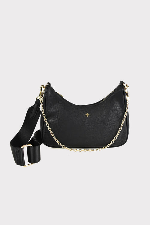 Paloma Mini Bag - Black Pebble