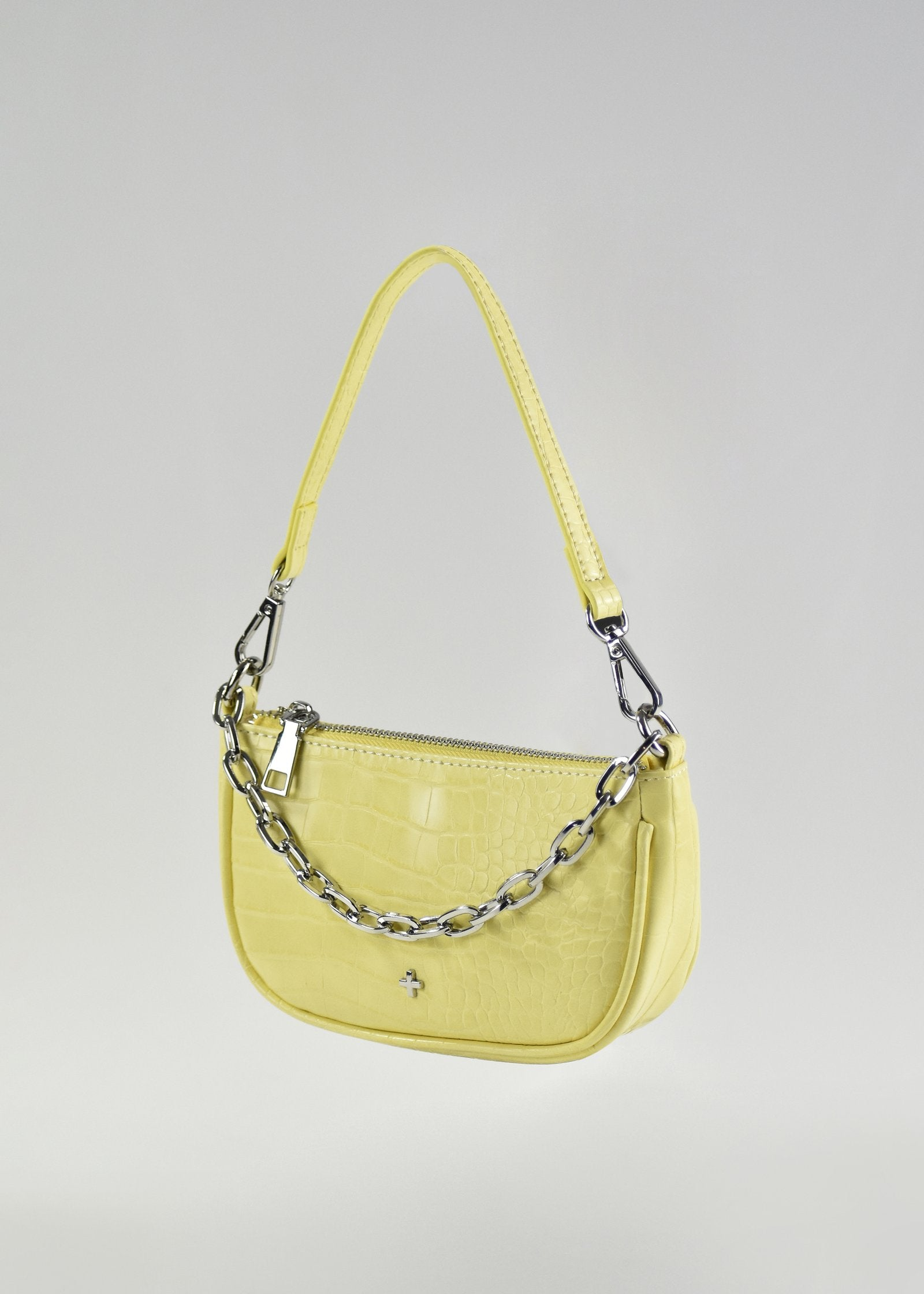 Portia Bag - Lemon Croc