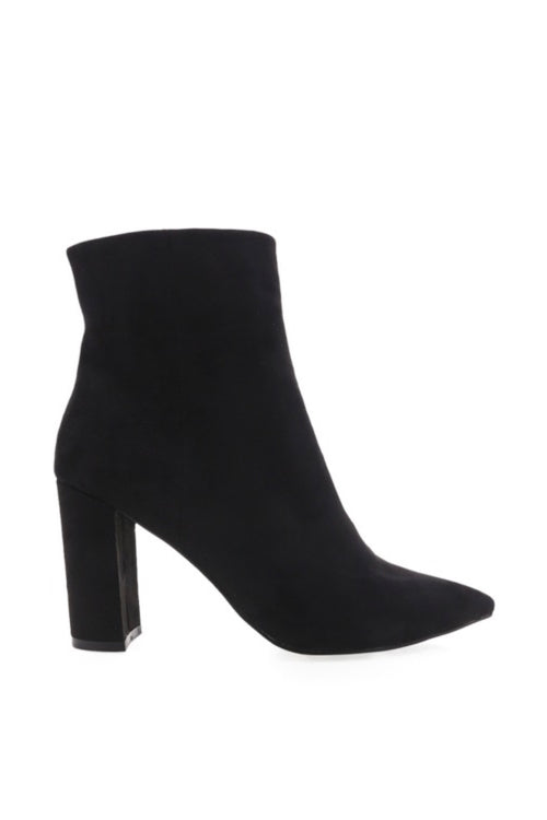 Whitney Boot - Black Suede