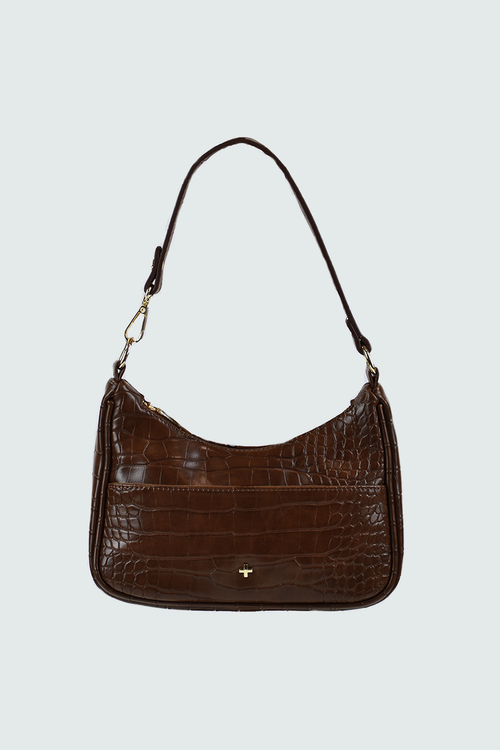 Tal Mini Bag - Choc Croc