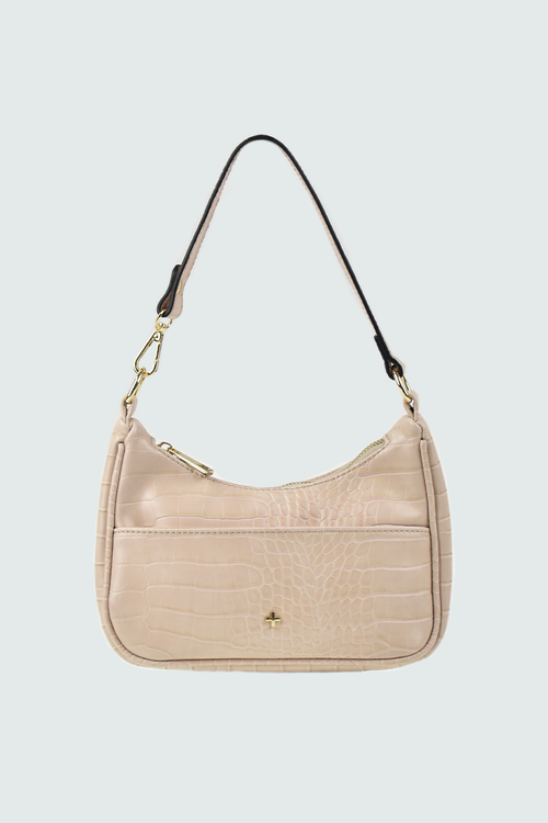 Tal Mini Bag - Nude Croc