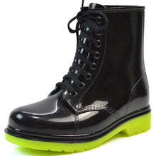 Rain Boots Lace-Up Waterproof
