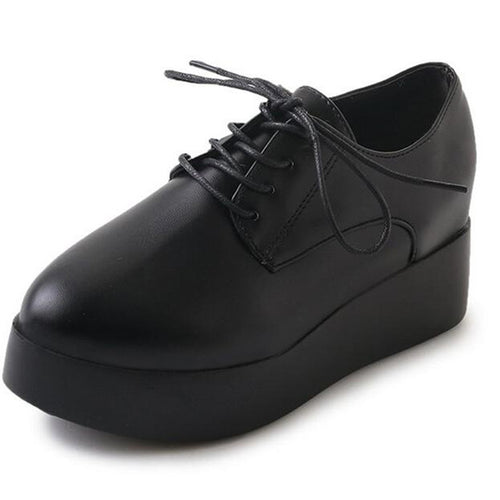 Pumps Lace-up Casual Shoes For Daily Spring