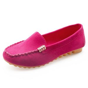 Flock Flats Summer Shallow Slip On Comfortable Loafers