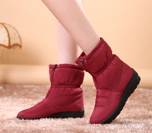 Snow Boots Winter Warm Non-slip Waterproof