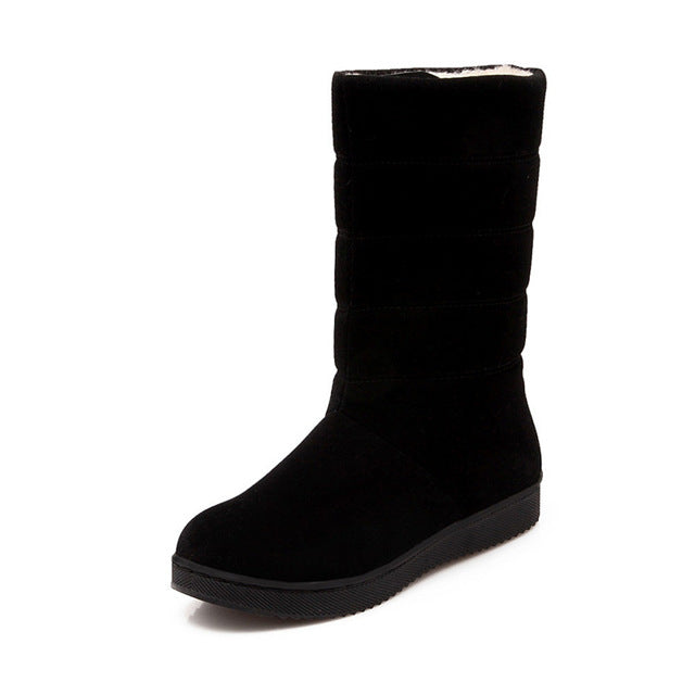 Slip on Ankle Strap Black High Heel Fashion Boots Spring And Summer