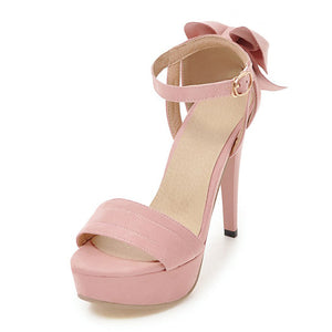 Sexy Shallow Summer Platform Sandals High Heels Shoes Woman Date Party