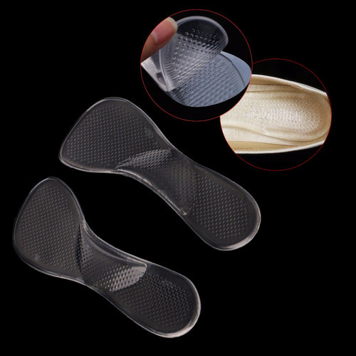 Silicone Insoles with Arch Support and Cushion Orthopedic High Heel Inserts Pad