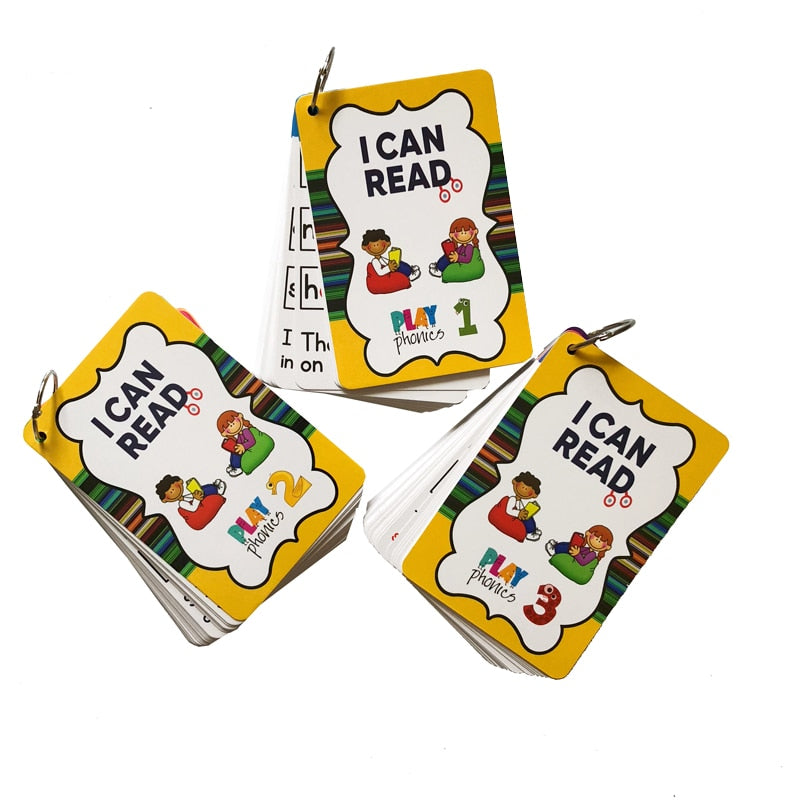 English Phonics Cards (107 piece)