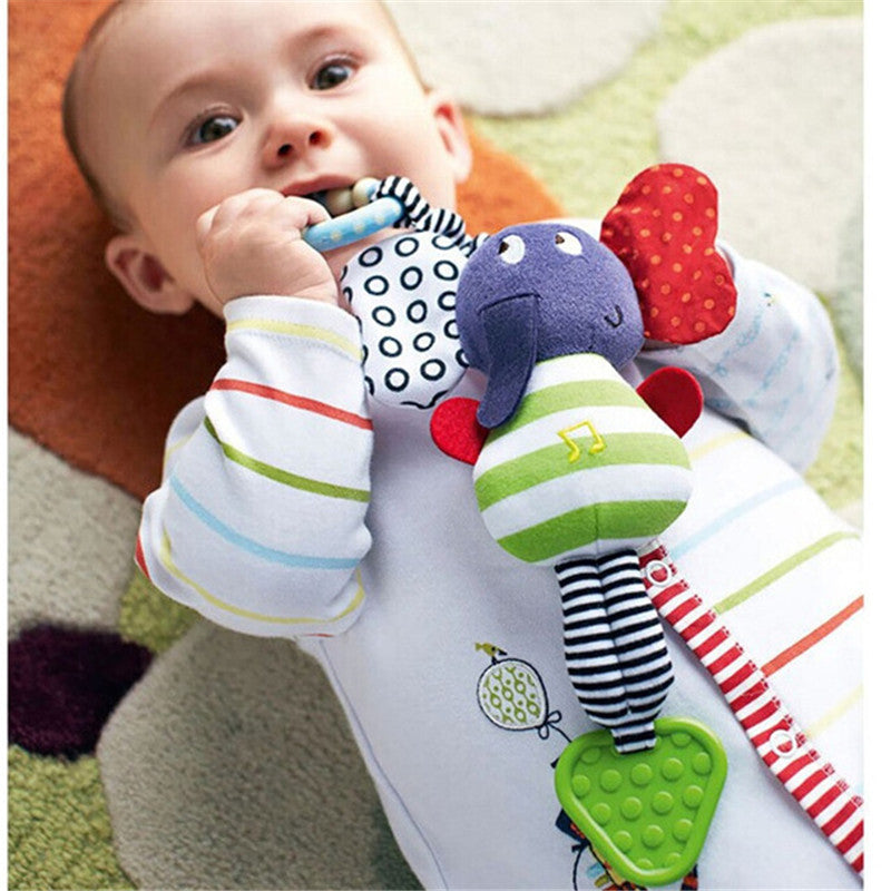 Musical Elephant Hanging Teether