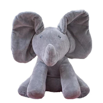 Wiggly Ear Talking Elephant (Peek-a-boo)